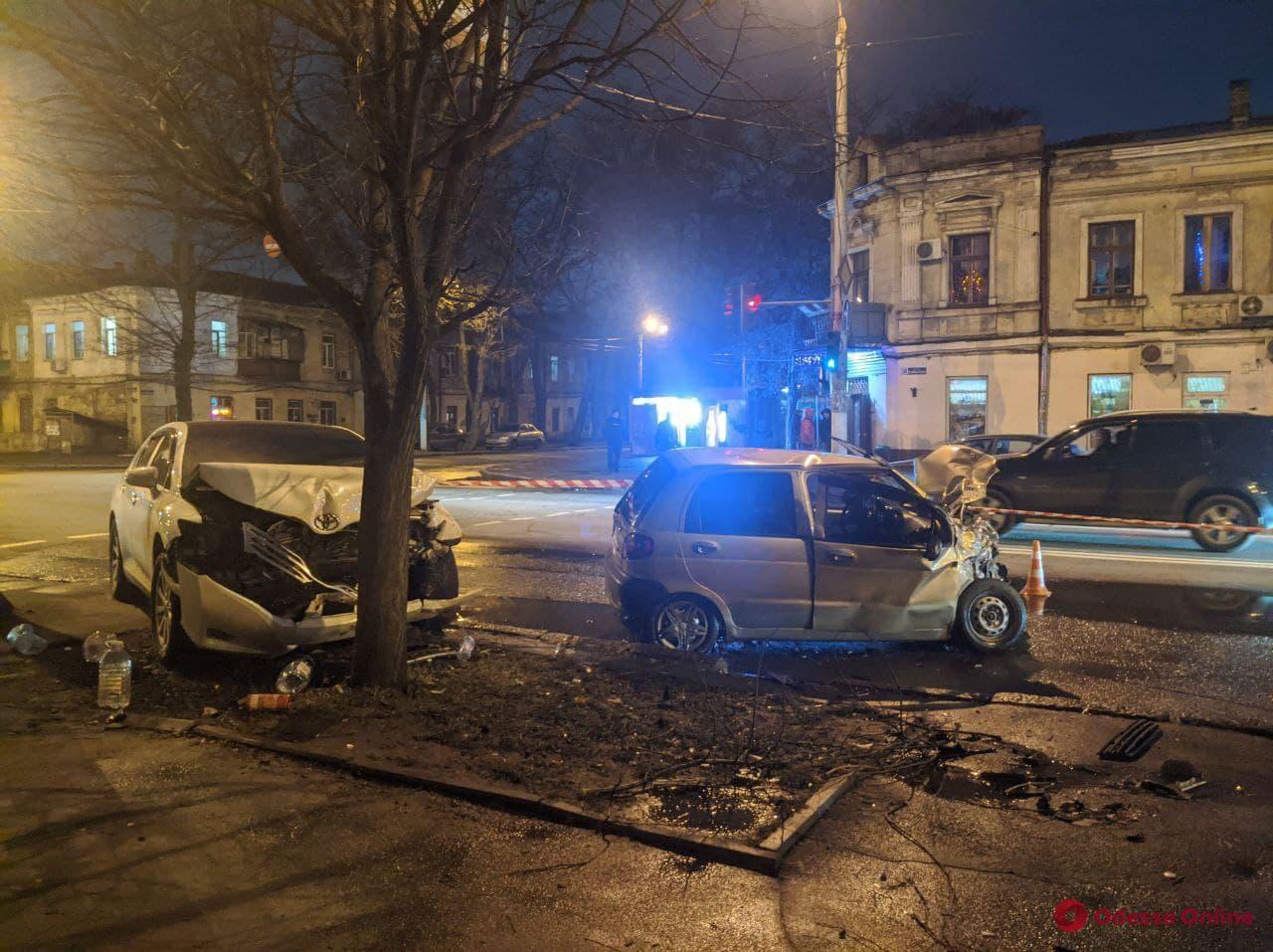 В Одессе на Молдаванке произошло ДТП с пострадавшей (обновлено)