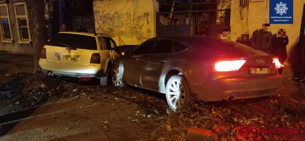 На Пересыпи столкнулись пять авто – пострадала женщина