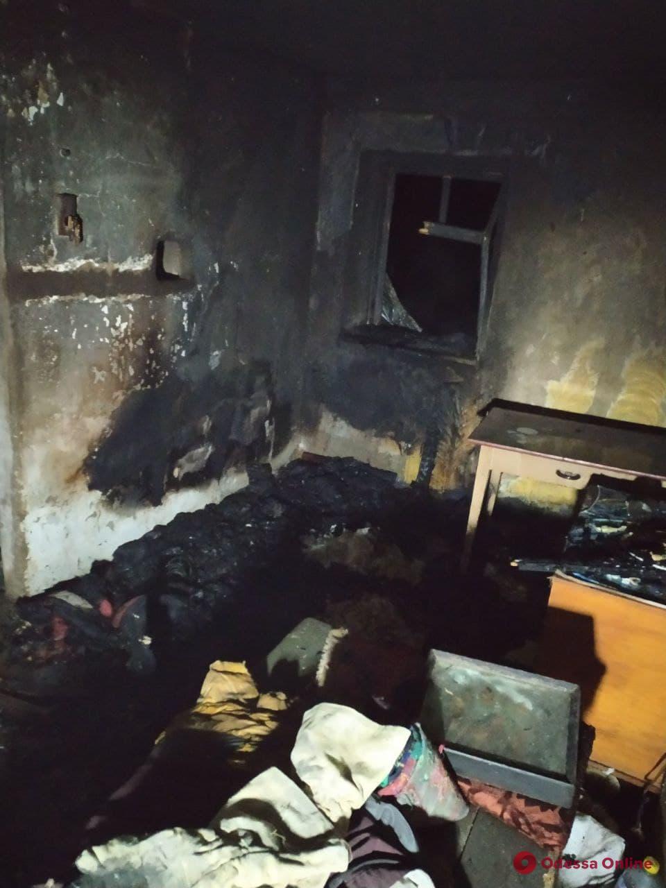 В Одесской области во время пожара погиб мужчина и пострадала его сожительница
