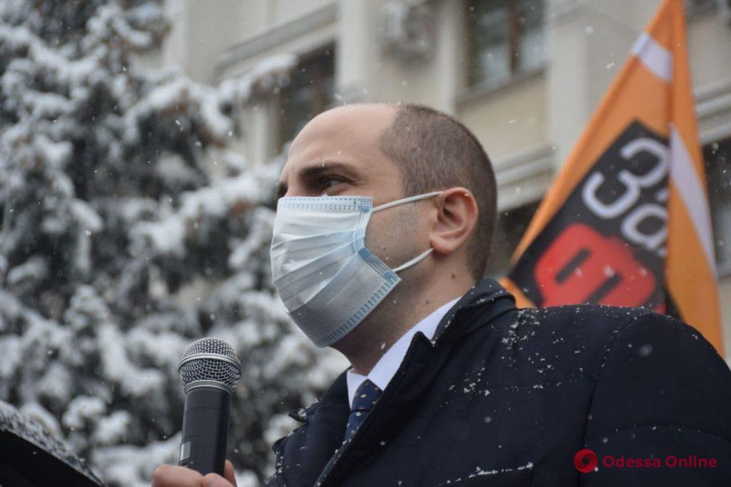 В Одессе предприниматели провели автопробег против локдауна (фото, обновлено)