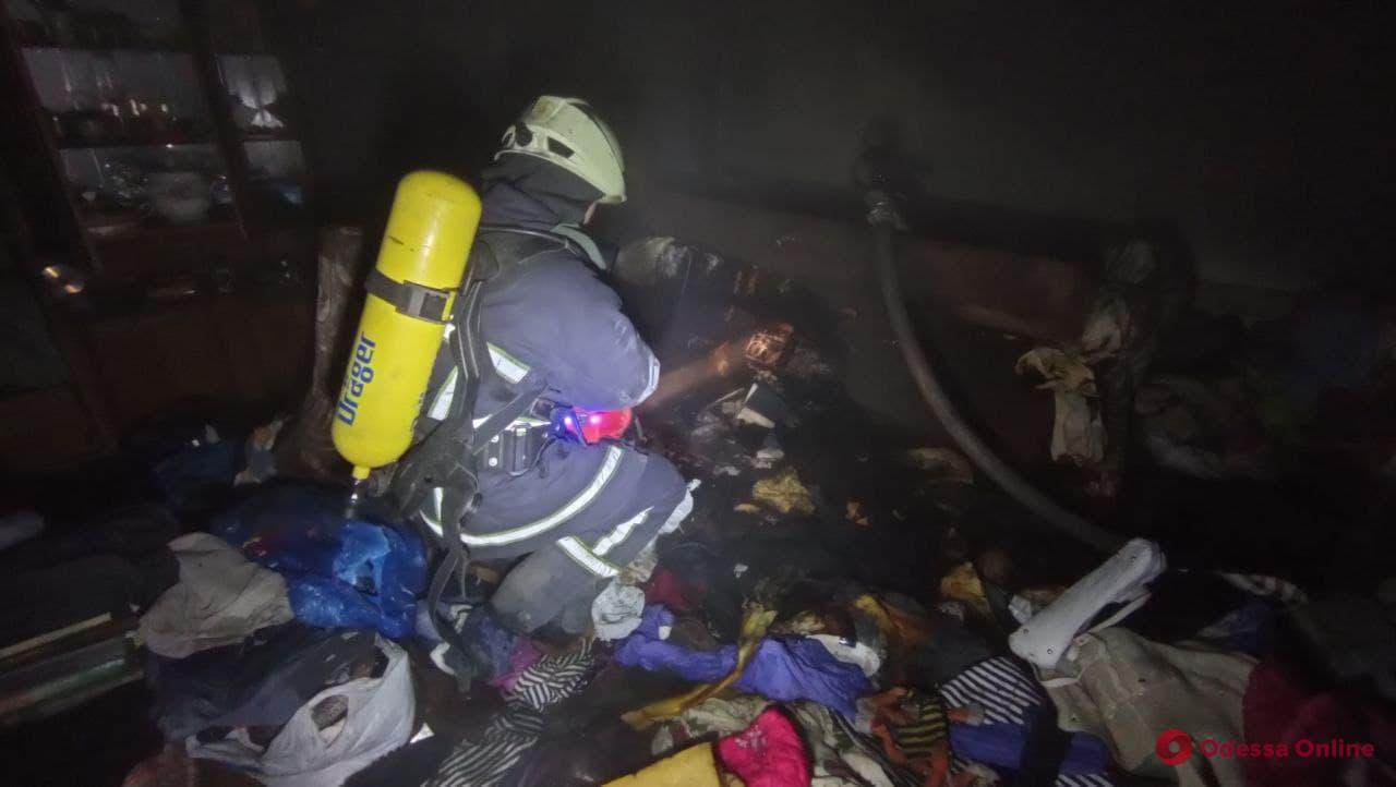 На поселке Котовского горела многоэтажка – жильцов эвакуировали