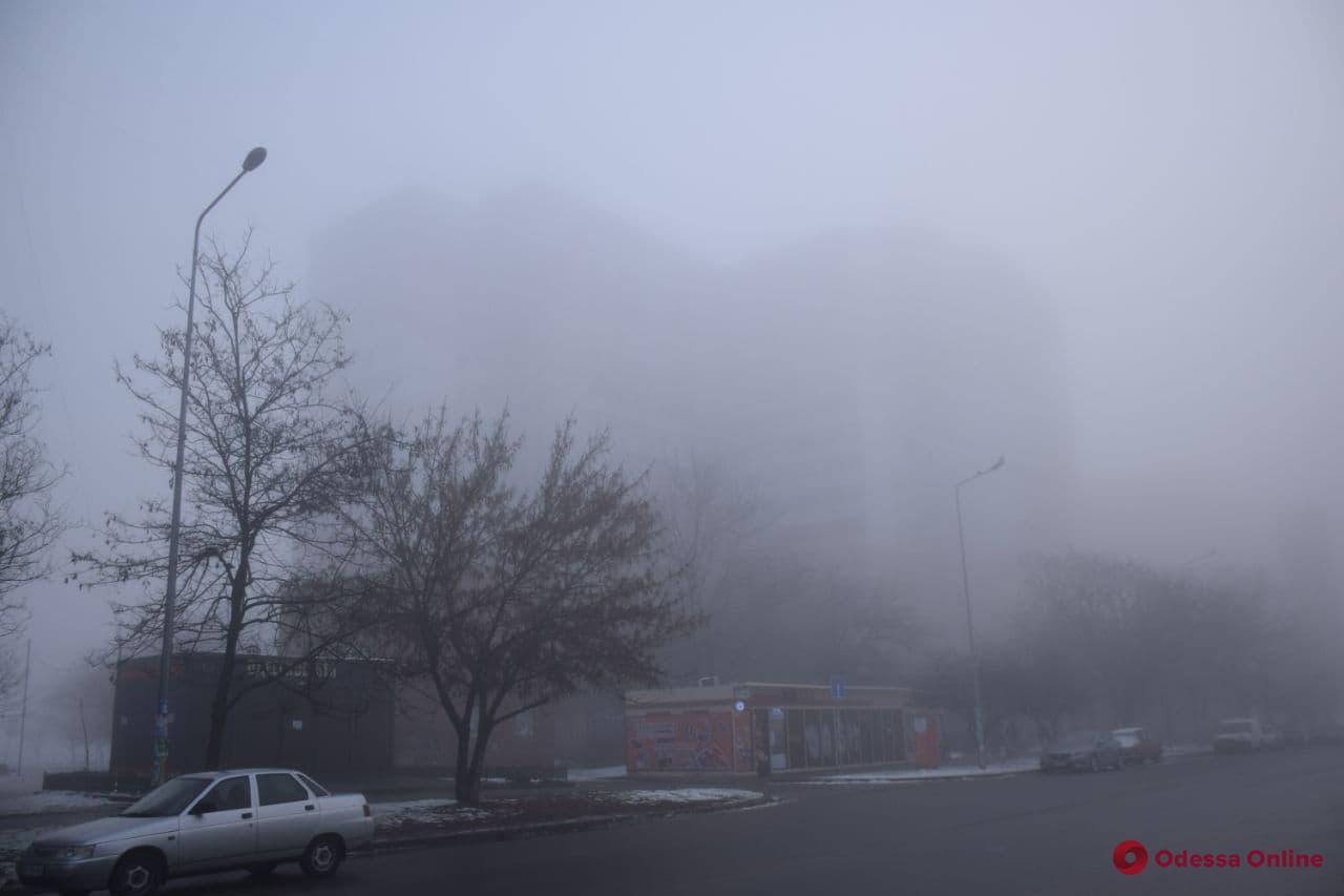 Погода в Одессе: ночью и утром ожидается туман