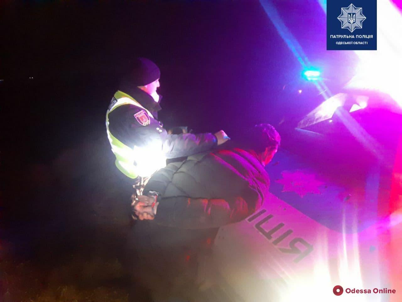 Одесские патрульные устроили погоню за похитителем авто