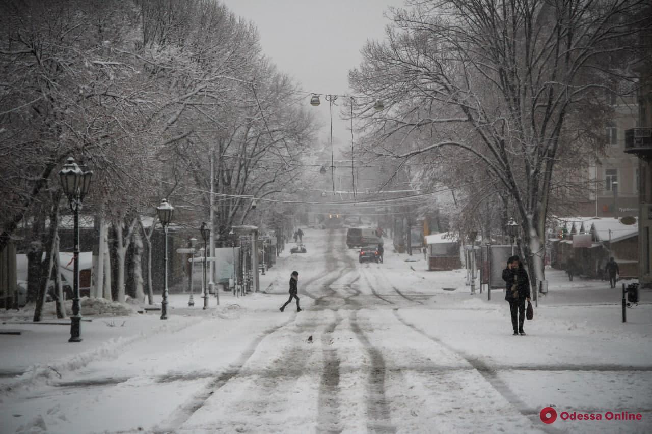 Сильная метель и гололедица: погода в Одессе и области 28 января