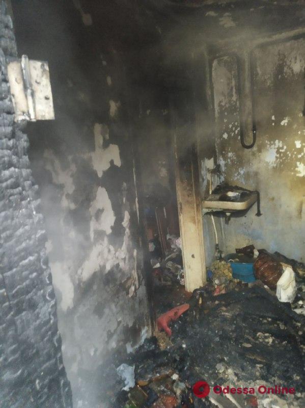 В Одесской области на пепелище нашли труп