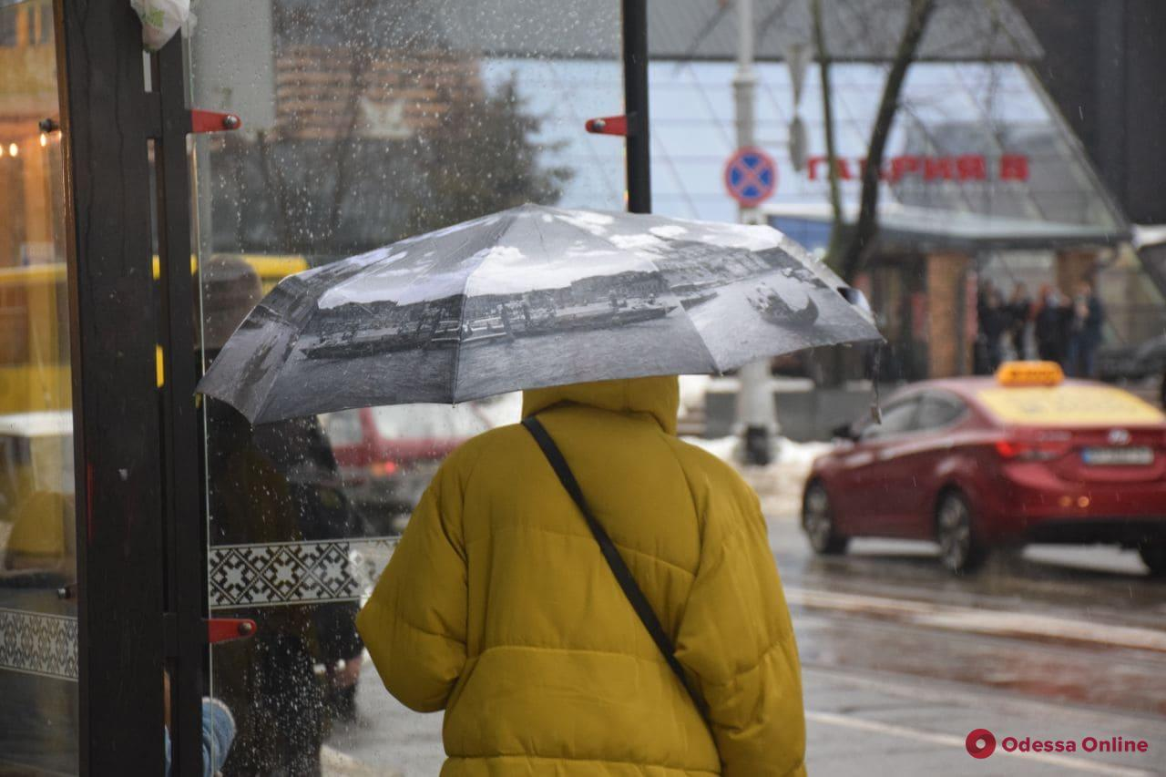 Днем 16 марта в Одессе ожидается дождь