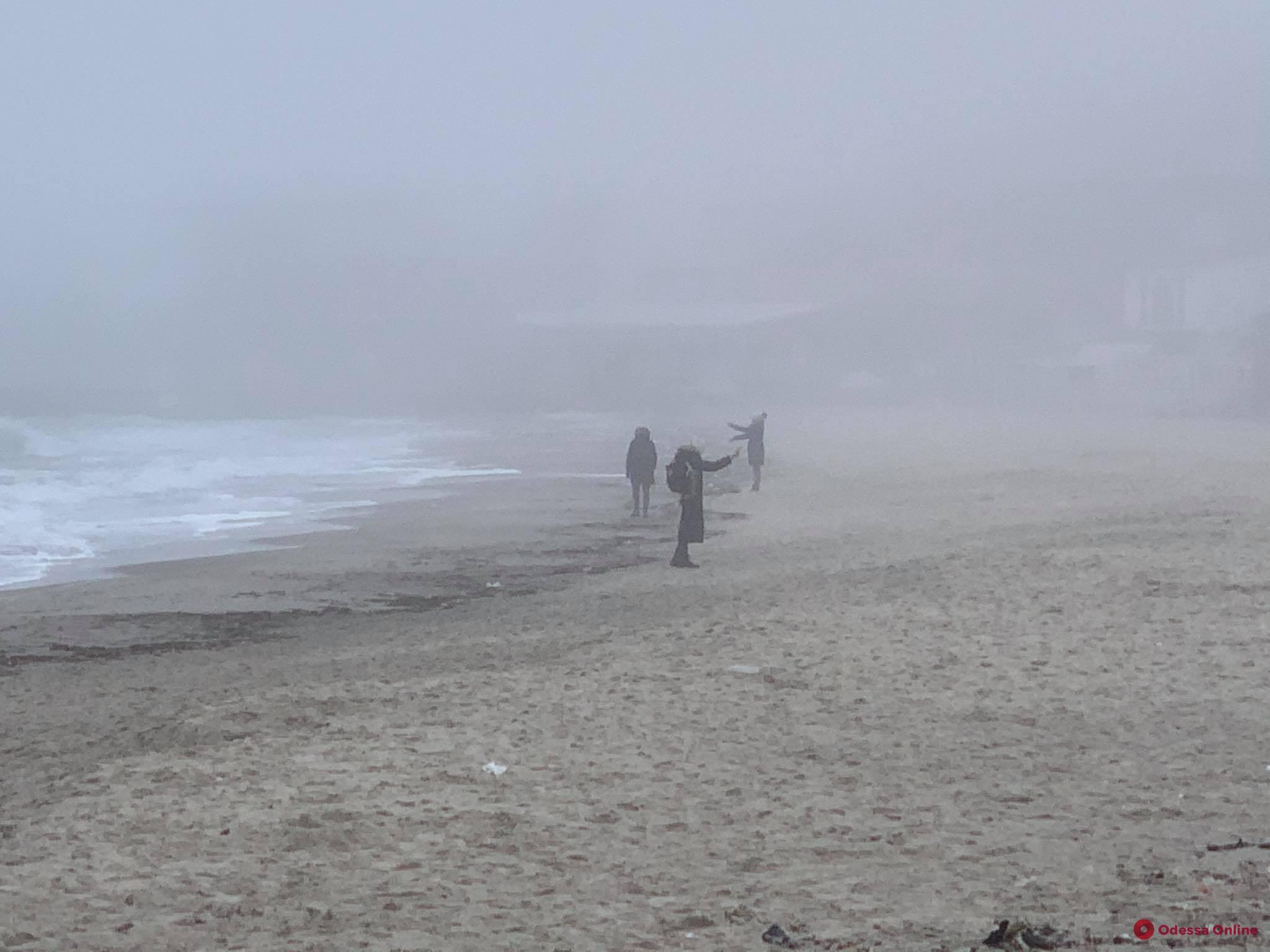 Туманный Ланжерон (фоторепортаж)