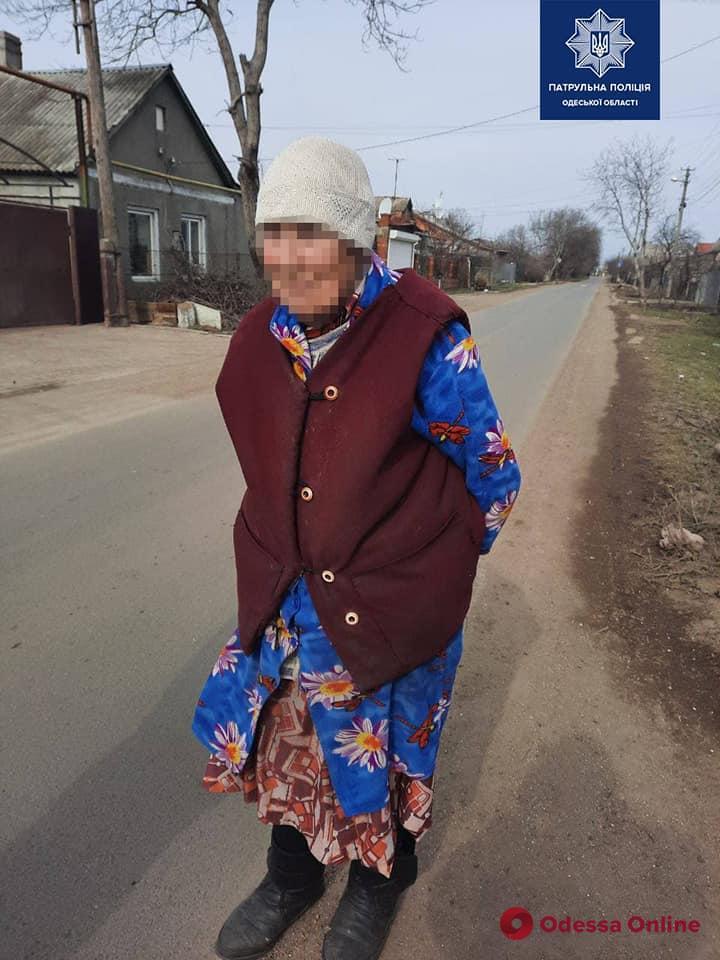 На Ленпоселке патрульные разыскали пропавшую пенсионерку