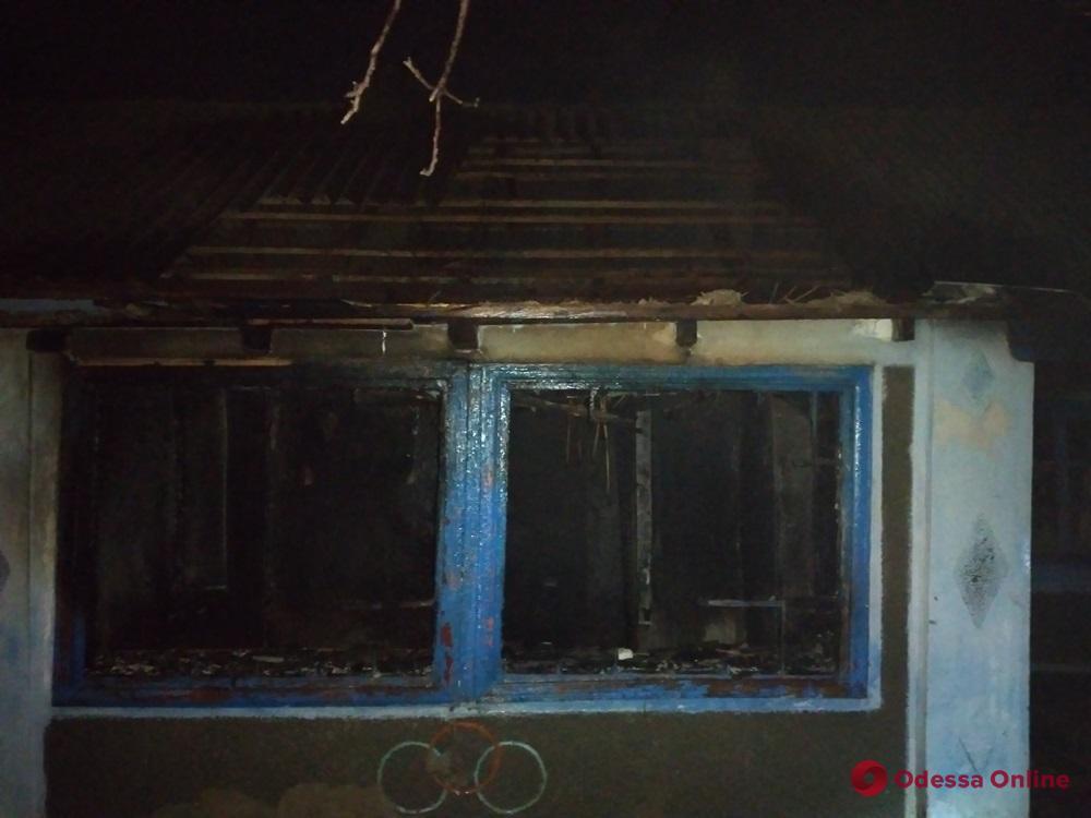 На севере Одесской области при пожаре погиб мужчина