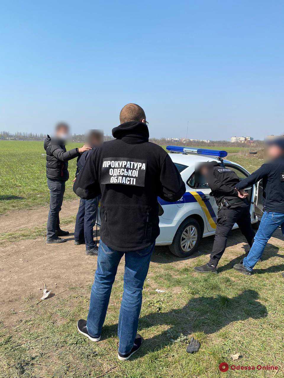 В Одессе будут судить экс-сотрудников полиции охраны за сбыт наркотиков и вымогательство