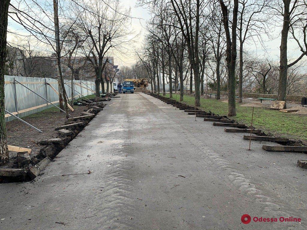 В Одессе готовятся приступить к новому этапу капремонта бульвара Жванецкого (фото)