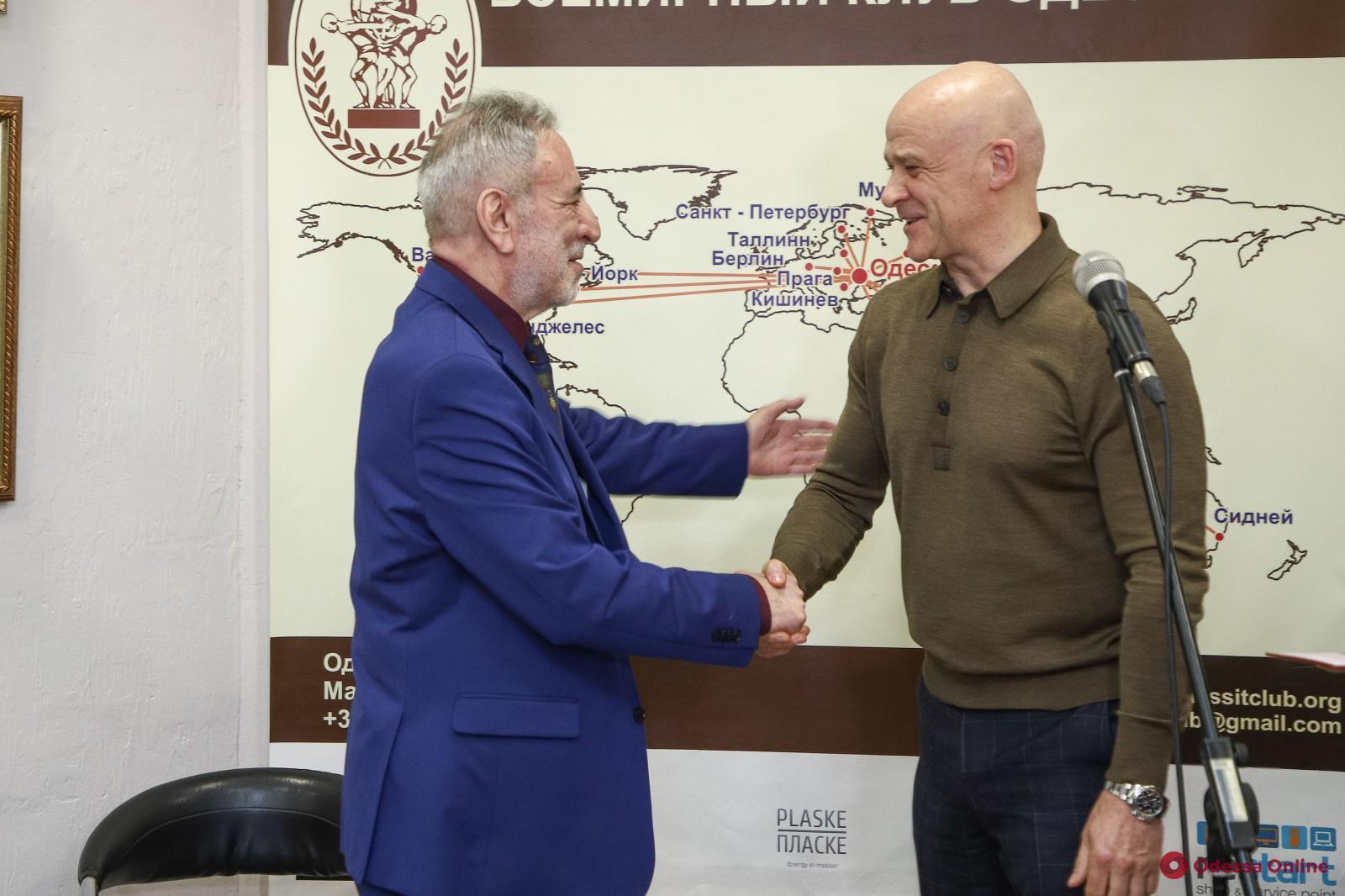 Известный одесский сценарист и ведущий Игорь Кнеллер отметил 70-летний юбилей