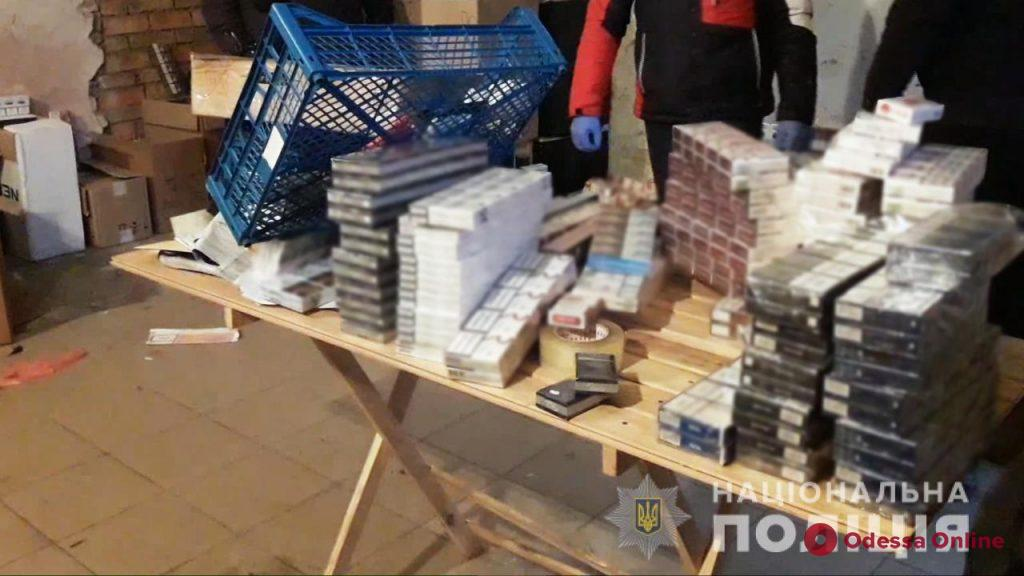 В Одесской области правоохранители изъяли контрафактного алкоголя и сигарет на 750 тысяч