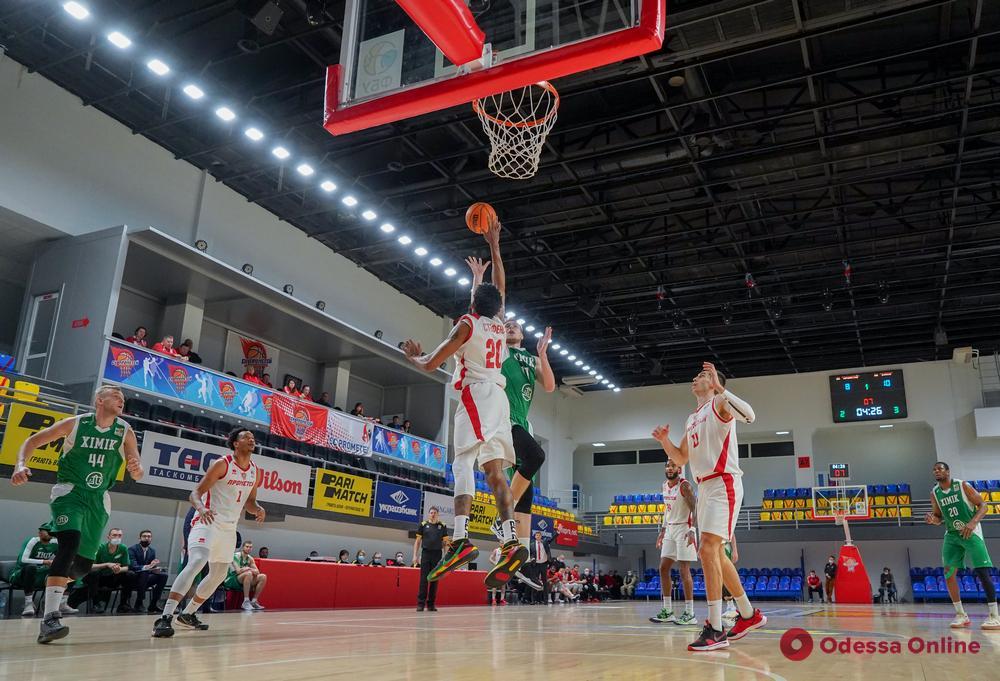 Баскетбол: «Одесса» и «Химик» проиграли свои матчи в Каменском