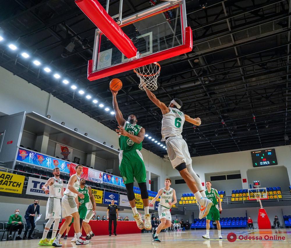 Баскетбол: «Химик» снова проиграл в Каменском