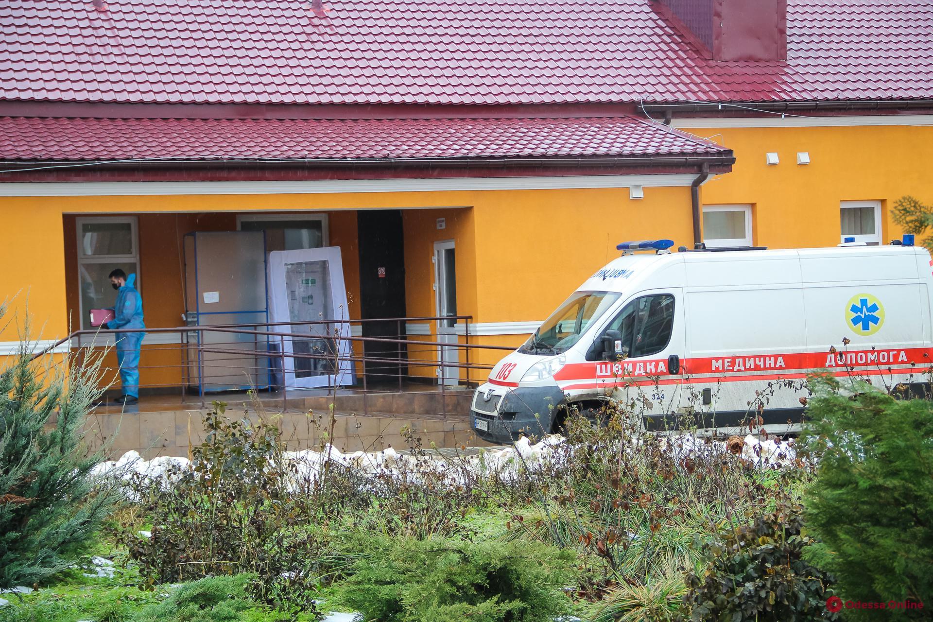 В одесских опорных больницах свободны 136 коек для госпитализации пациентов с Covid-19