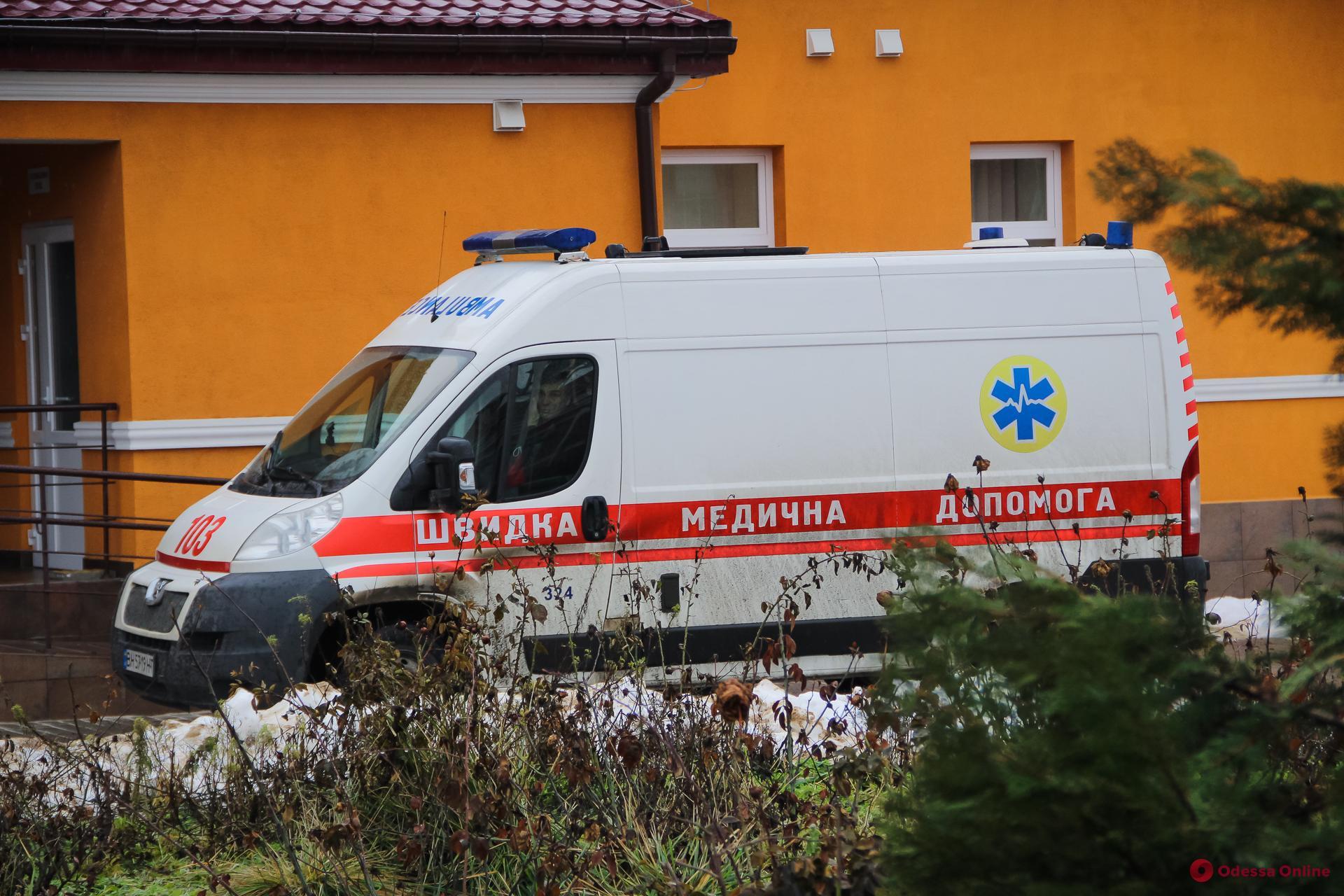 Одесса: в опорных больницах свободны 260 «ковидных» коек