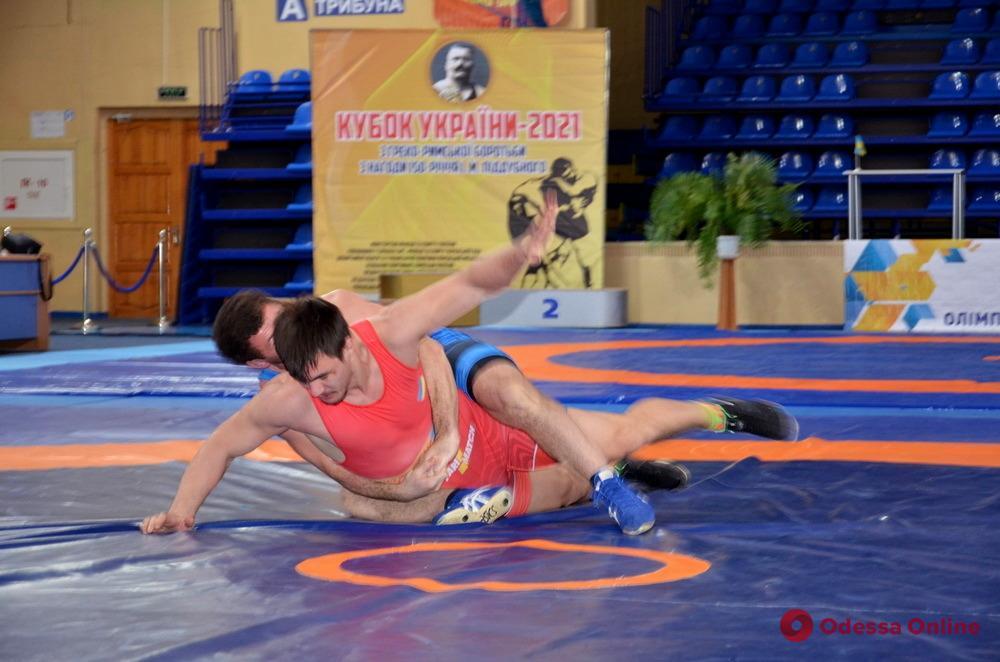 Греко-римская борьба: одессит стал призером Кубка Украины