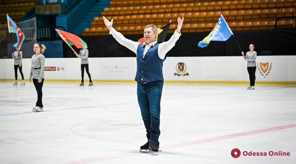 В Одессе торжественно открыли Международный турнир по фигурному катанию (фоторепортаж)
