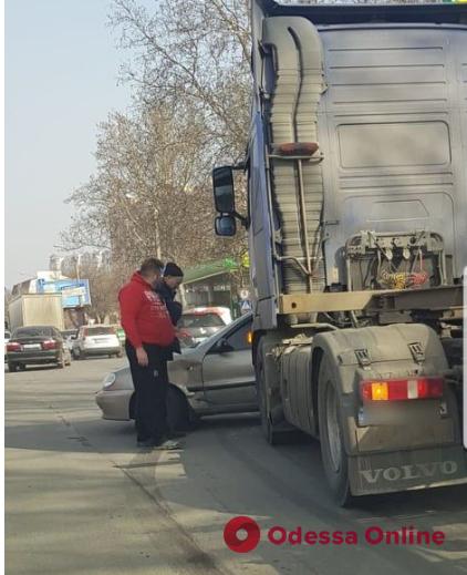 Из-за ДТП на Балковской образовалась пробка
