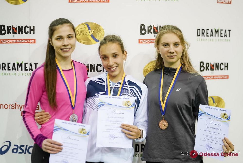 Одесская легкоатлетка завоевала бронзовую медаль чемпионата Украины