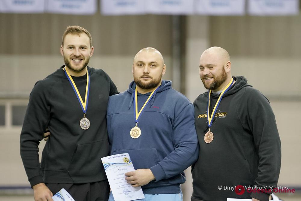 Толкание ядра: одессит завоевал «серебро» чемпионата Украины