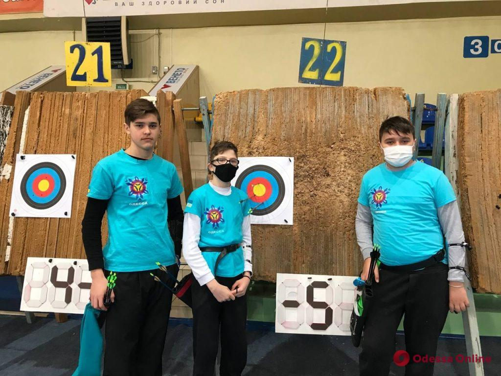 Стрельба из лука: сборная Одесской области удачно выступила на чемпионате Украины