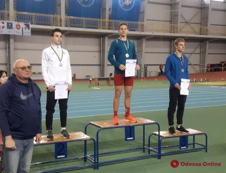 Спортсмены из Одесской области завоевали медали чемпионата Украины по легкой атлетике
