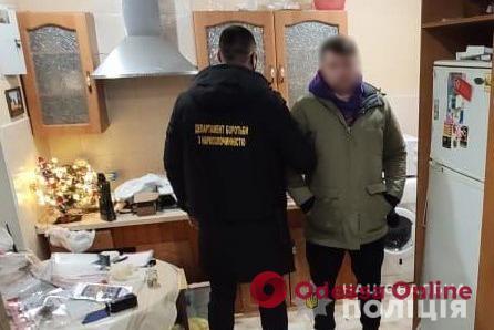 Одесские полицейские задержали двух наркодилеров-иностранцев