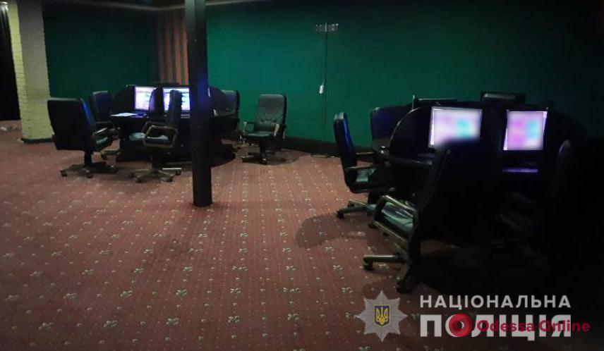 Одесская полиция закрыла четыре нелегальных казино