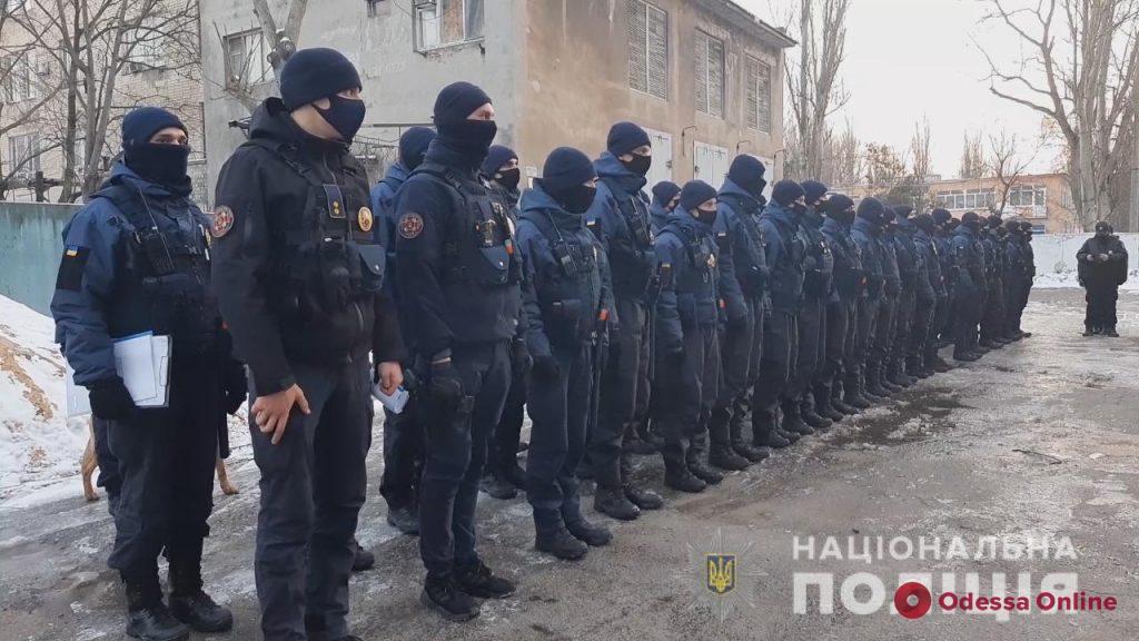 Полиция и Нацгвардия начали совместное патрулирование улиц Одессы