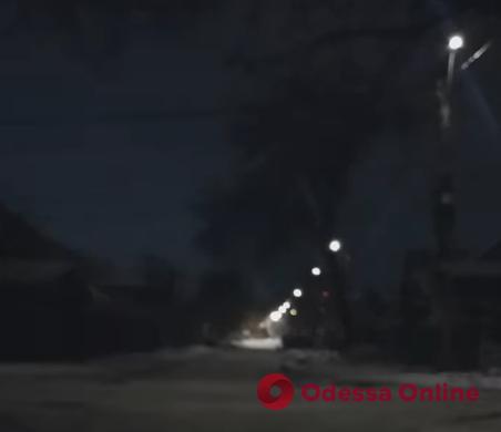 Короткое замыкание «устроило дискотеку» на Парковой (видео)