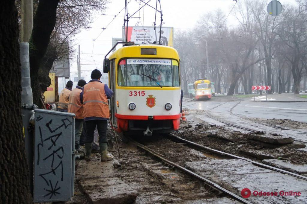 Одесса: как идет капитальный ремонт Новощепного ряда (фоторепортаж)