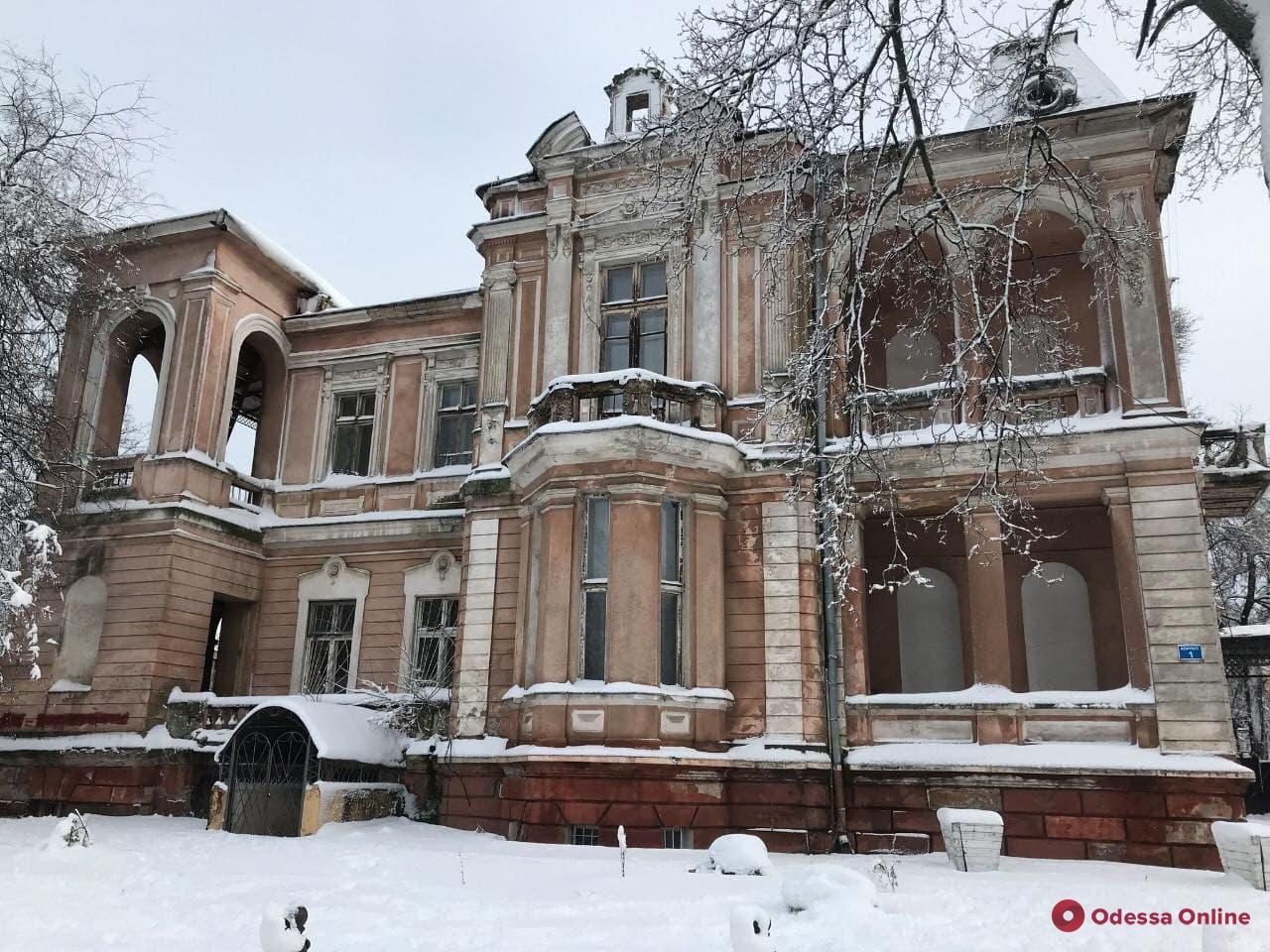 Высший антикоррупционный суд запретил строительство на территории «Дачи Маразли» в Одессе