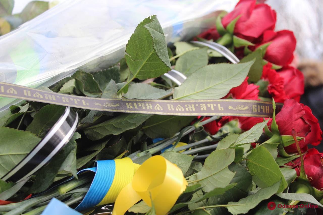 День героев Небесной Сотни: одесситы возложили цветы в память о погибших (фото)