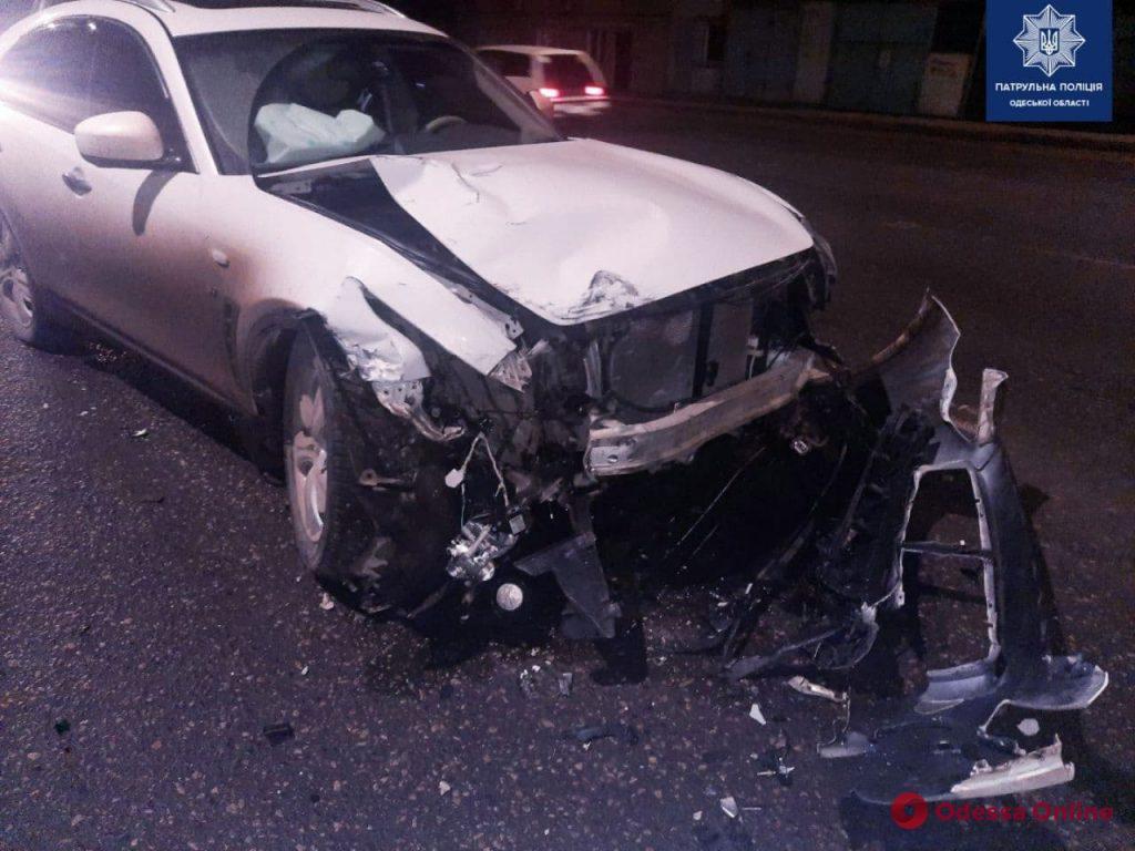 В ДТП на Николаевской дороге пострадал пенсионер