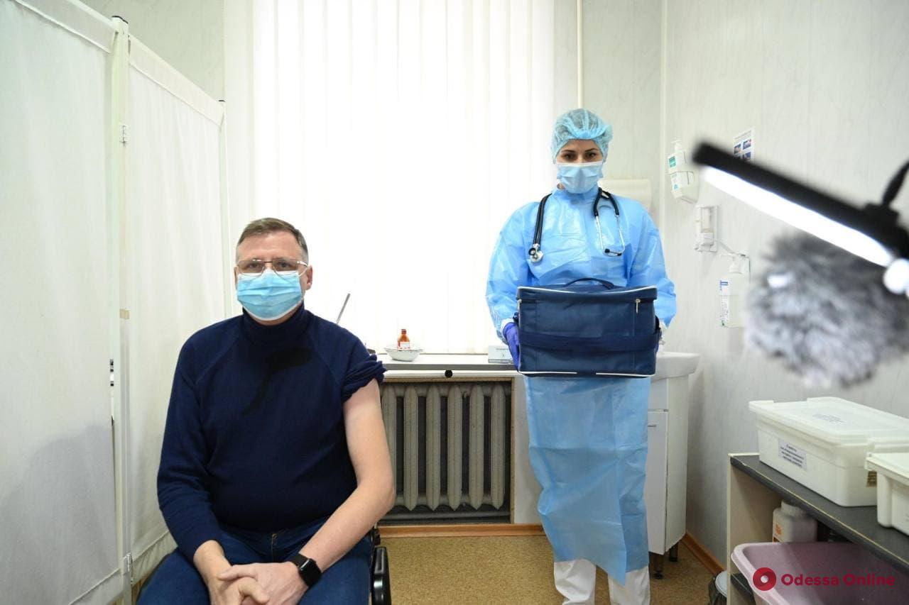 В Одессе и области началась вакцинация от COVID-19