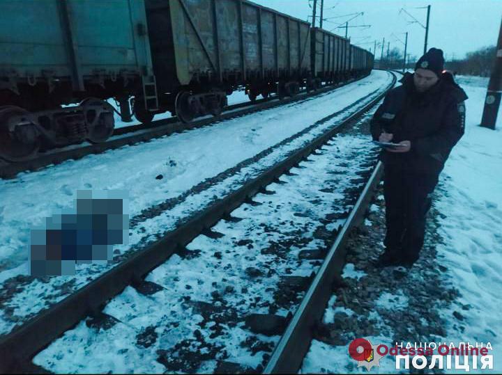 На Одесской железной дороге поезд насмерть сбил мужчину