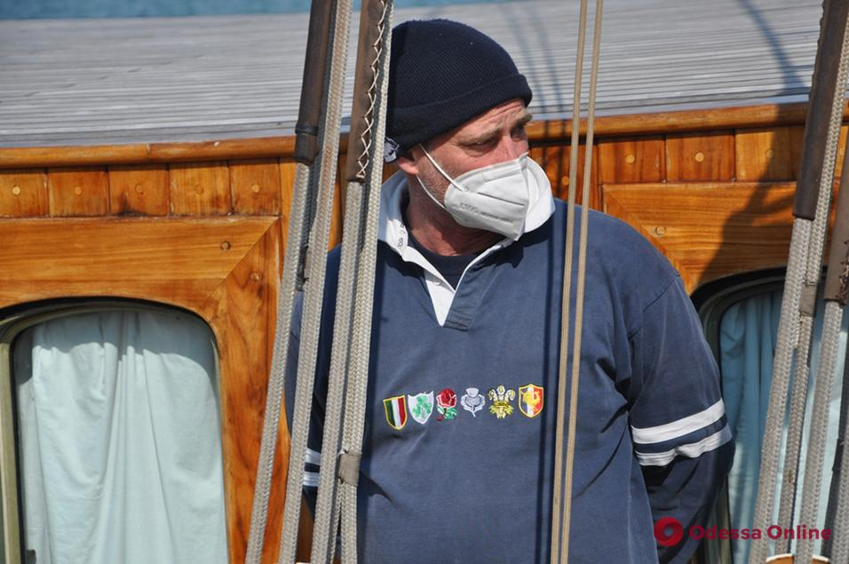В Одесский порт зашла 105-летняя парусная яхта (фото)