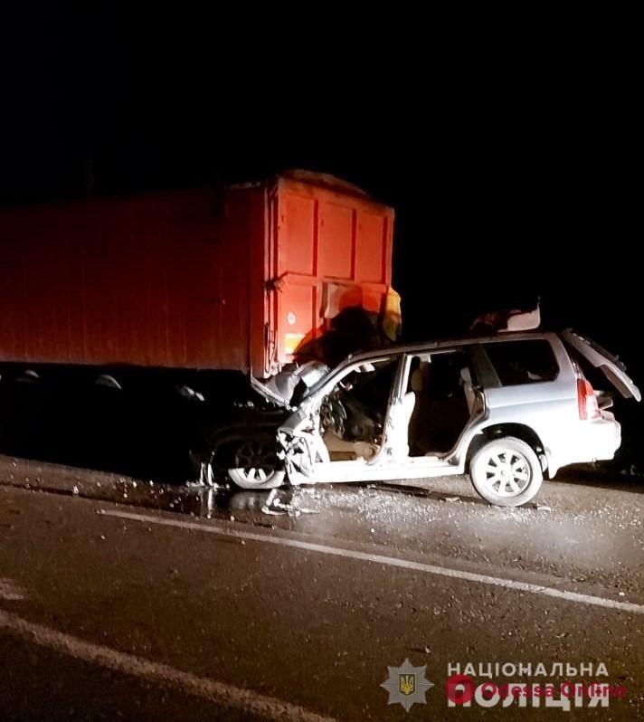 В Одесской области в ДТП погиб сотрудник полиции