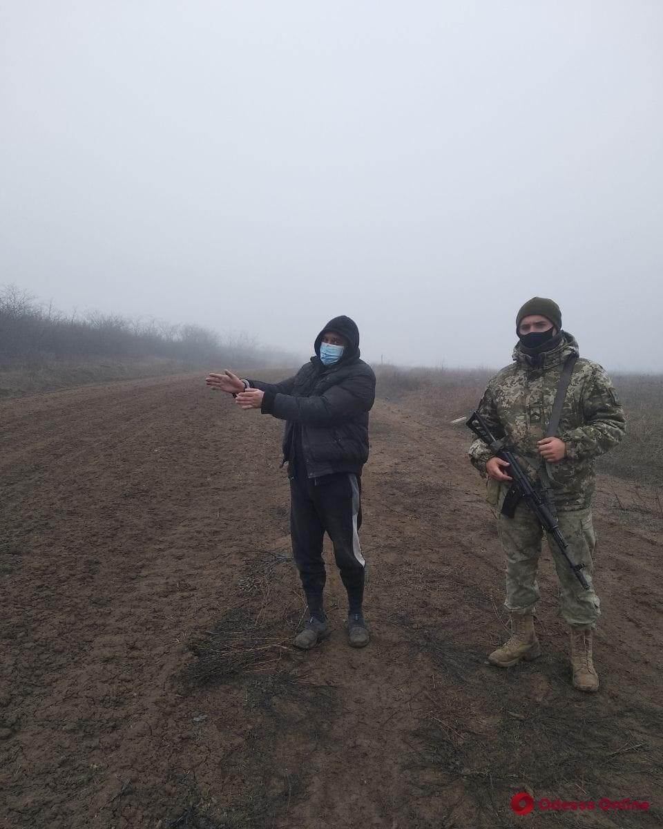В Одесской области пограничники поймали молдаванина-нарушителя
