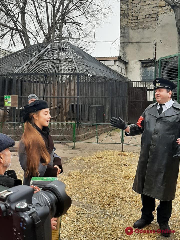 «Улыбка львицы»: в Одессе снимают кино о зоопарке в период Второй мировой (фото)