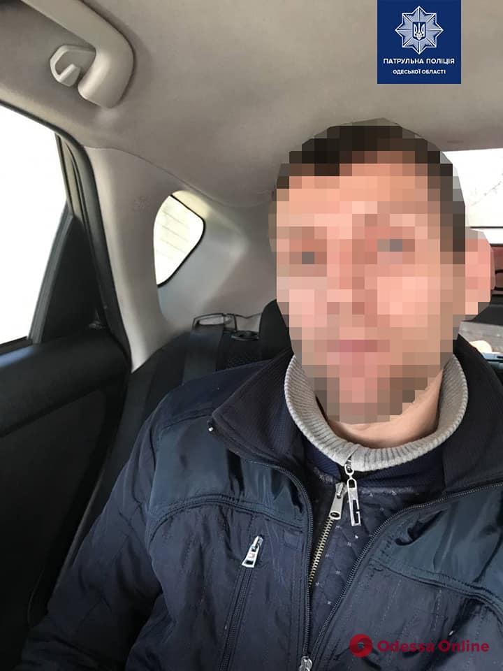 В Одессе на поселке Котовского задержали домушника