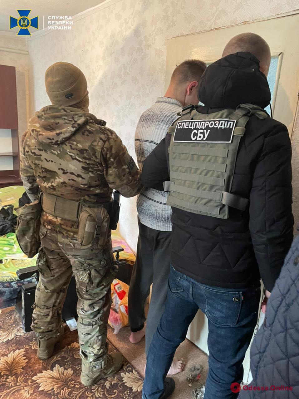 В Одессе СБУ задержала группу наркоторговцев, которую организовал экс-пограничник