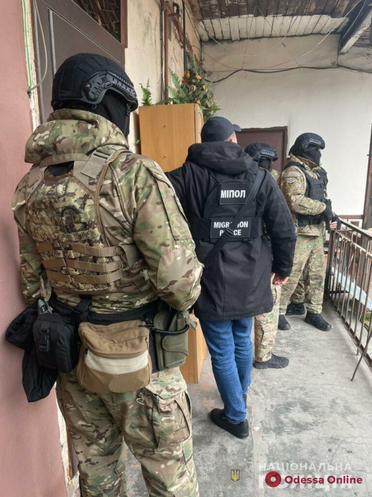 Одесская полиция задержала криминального авторитета из Закавказья