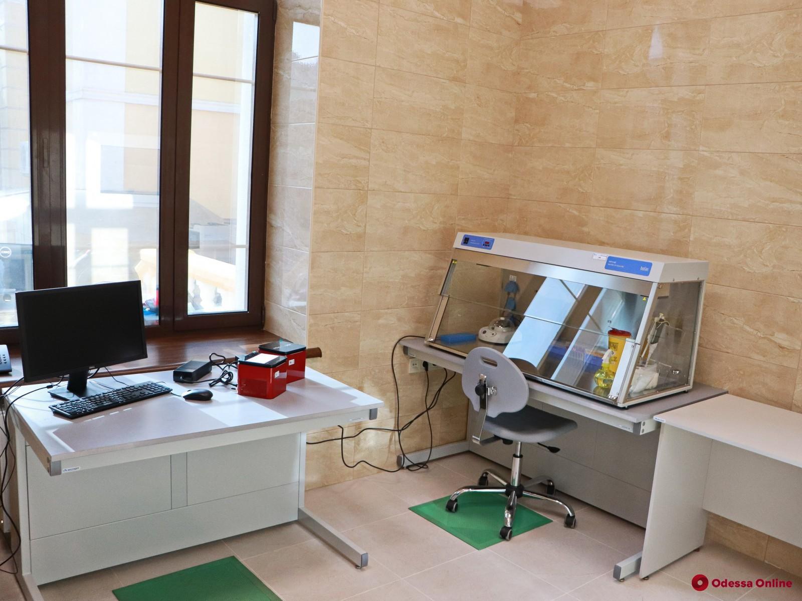 В Одессе новая городская ПЦР-лаборатория получила лицензию Минздрава