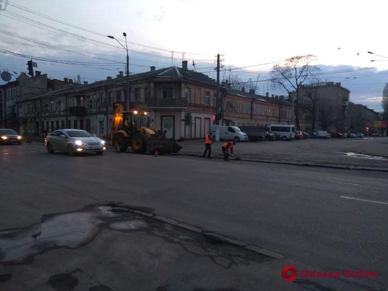 В Одессе начался текущий ремонт дорог