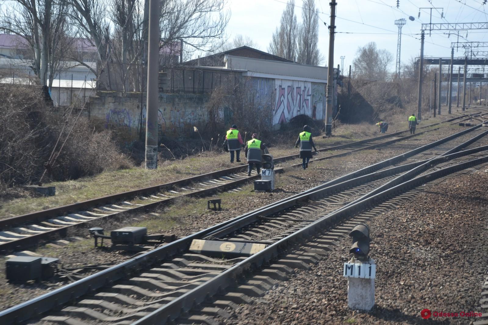 Вице-мэр Дмитрий Жеман проинспектировал санитарное состояние железнодорожных въездов в город