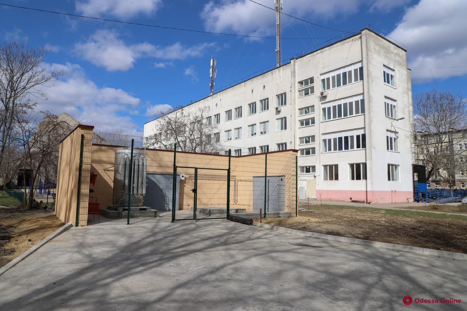 В одесских больницах увеличивают число кислородных точек