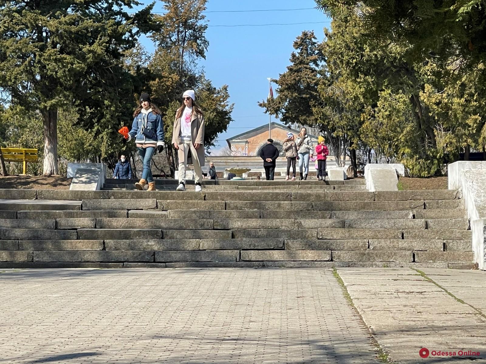 В Одессе поэтапно восстановят Дюковский парк